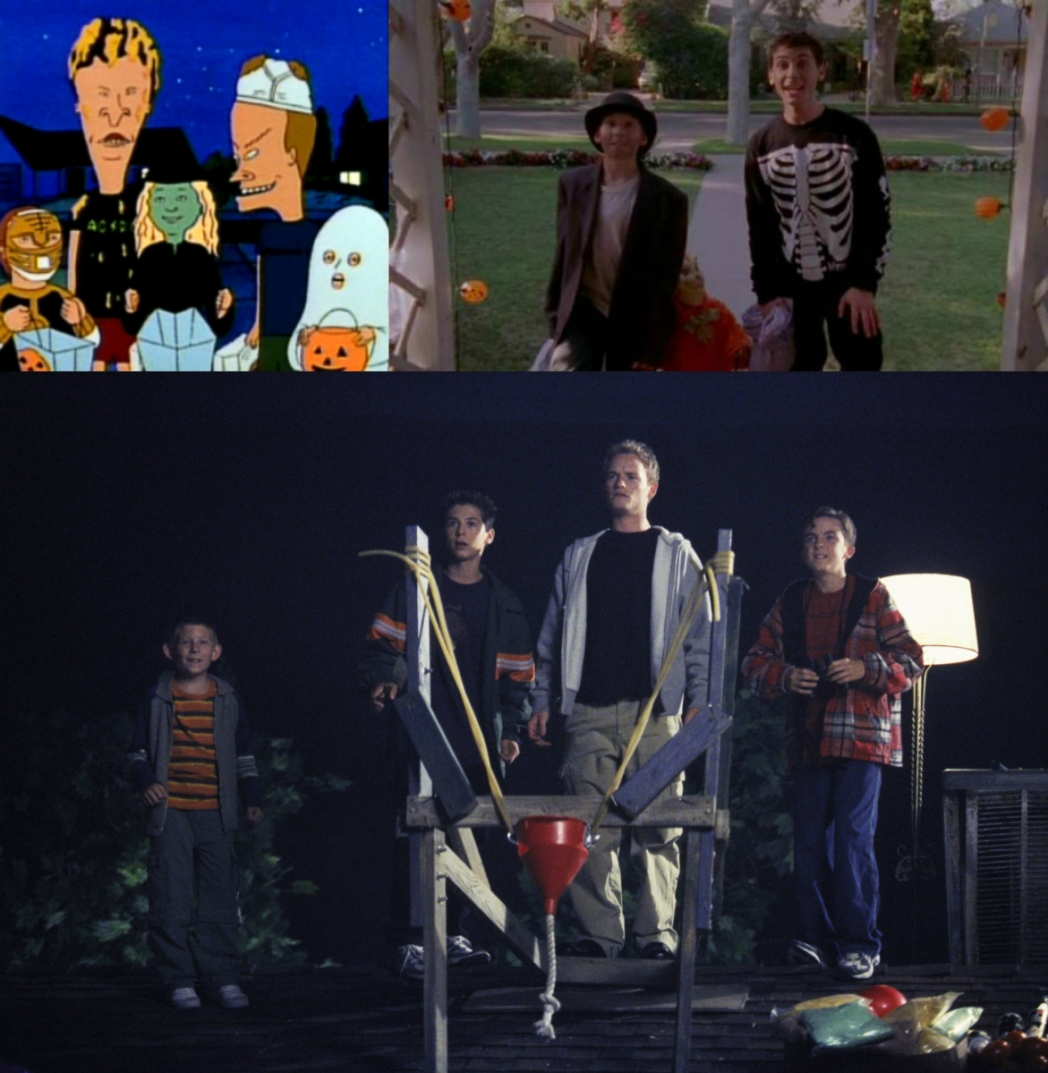 halloween on tv: beavis and butt-head and malcolm in the middle (31